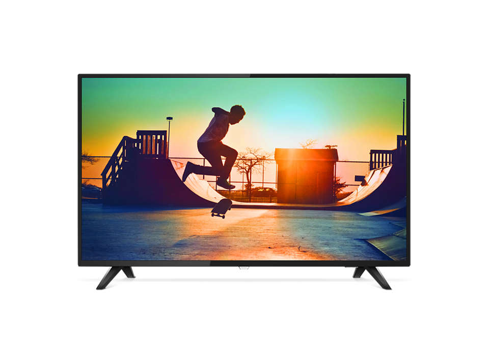 4K Ultra Slim Smart LED TV