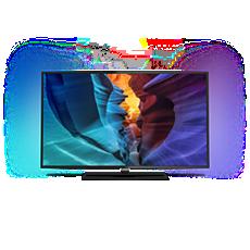 55PUT6800/56  4K UHD، شاشة رفيعة، LED TV مشغّل بواسطة Android™