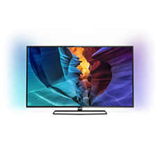 55PUT6800/56  4K UHD Slim LED TV powered by Android™