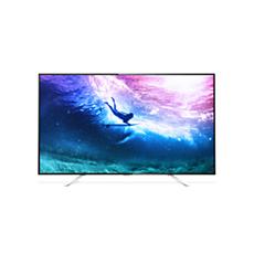 55PUT6801/56  4K، شاشة رفيعة، تلفزيون مشغّل بواسطة Android TV™