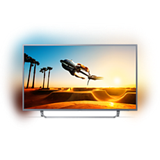 55PUT7303/56  دقة 4K، شاشة رفيعة، تلفزيون مشغّل بواسطة Android TV