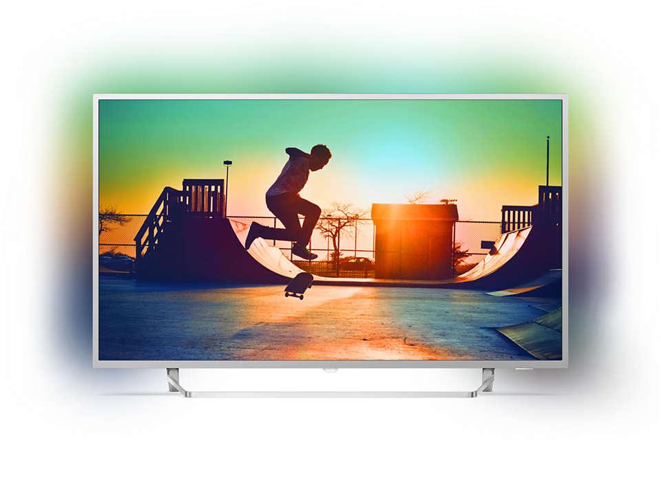 Ultra Slim 4K UHD LED Android TV