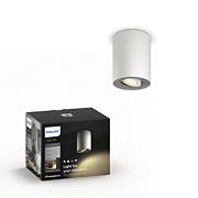 Hue White ambiance Pillar enkel spotlight ekst.