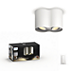 Hue White ambiance Foco Pillar doble
