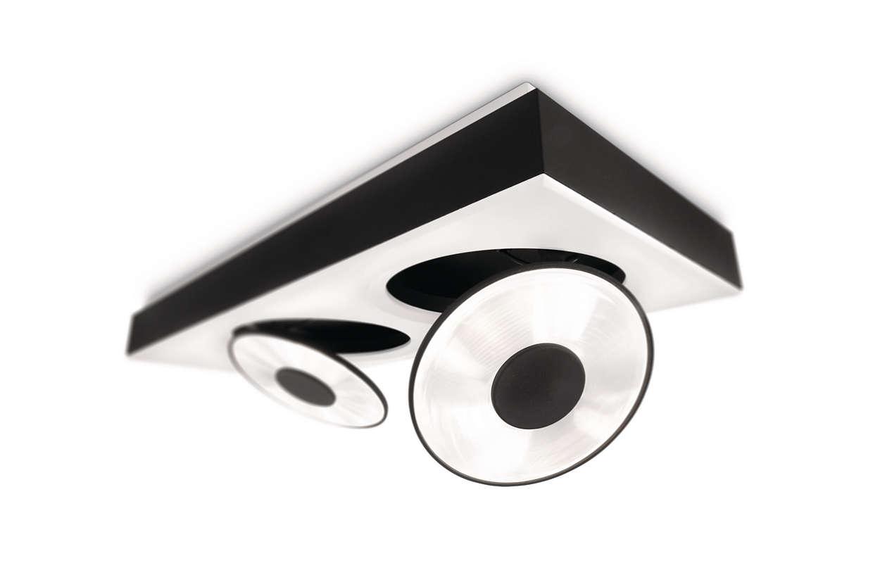 Ledino Circulis ceiling light