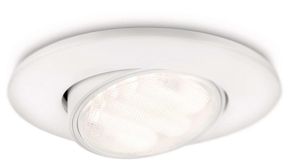 La combinazione intelligente di luce e design