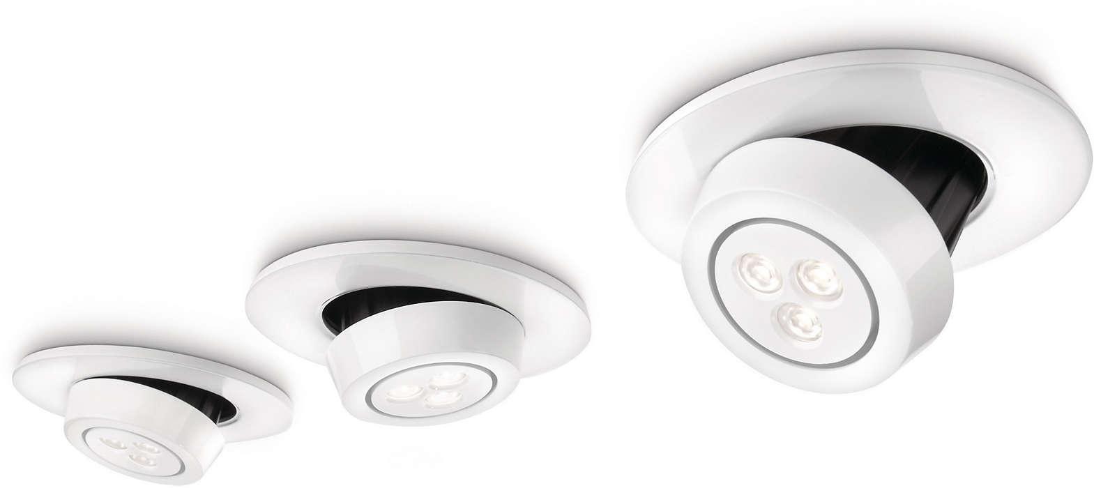 燈光和設計的明智組合