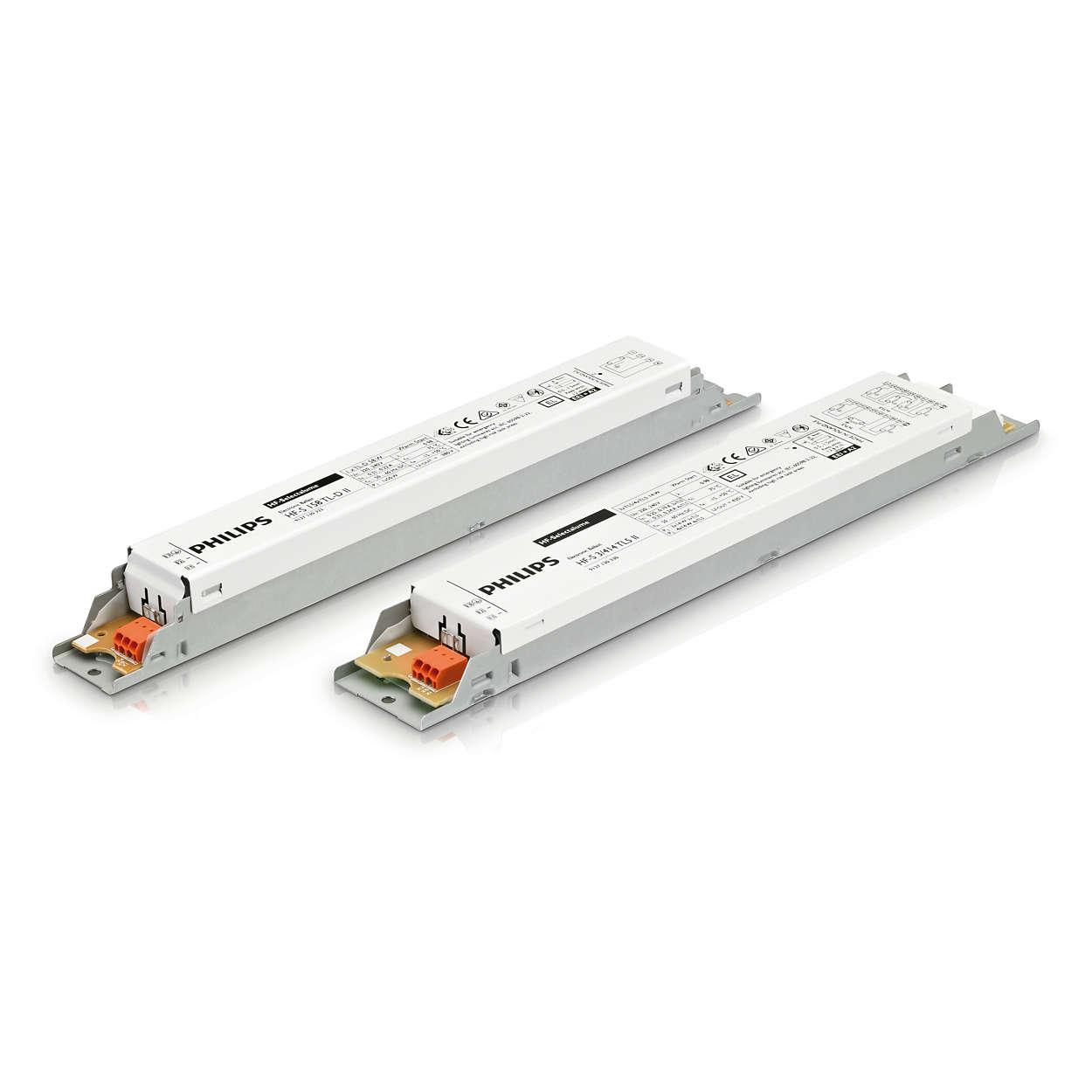 HF-Selectalume II для ламп TL5