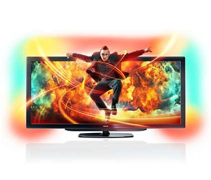 Der weltweit erste Fernseher mit Smart TV im Kinoformat