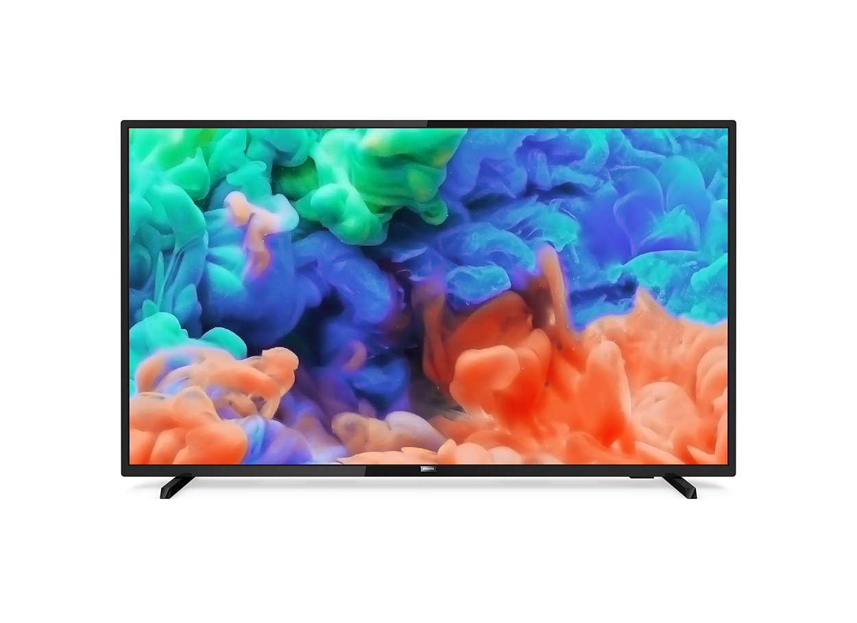 Ultraflacher 4K UHD LED Smart TV