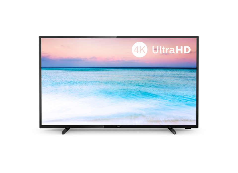 4K UHD LED-Smart TV
