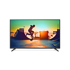 58PUT6183/56  رفيع جدًا، 4K UHD، تلفزيون LED، Smart TV