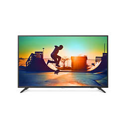 6000 series Ultra Slim 4K UHD LED Smart TV