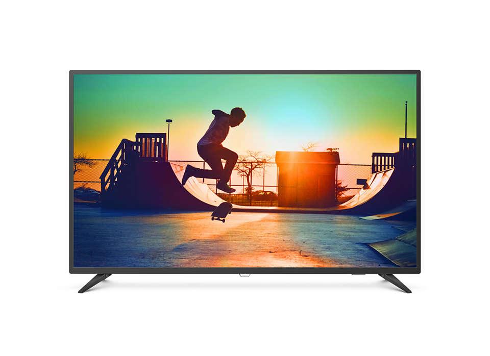 Ultra Slim 4K UHD LED Smart TV
