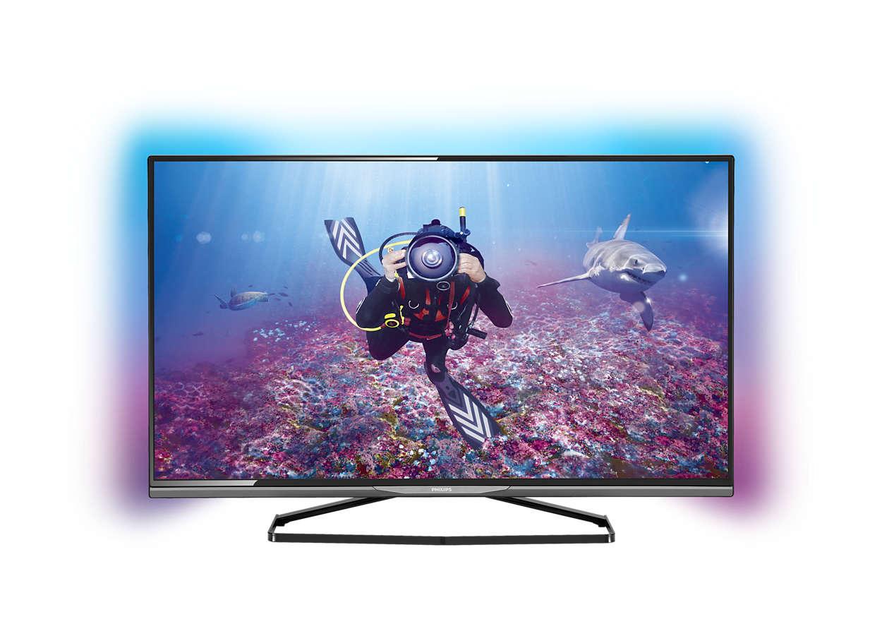 ultra slim smart 4k ultra hd led tv 58put8509 79 philips. Black Bedroom Furniture Sets. Home Design Ideas