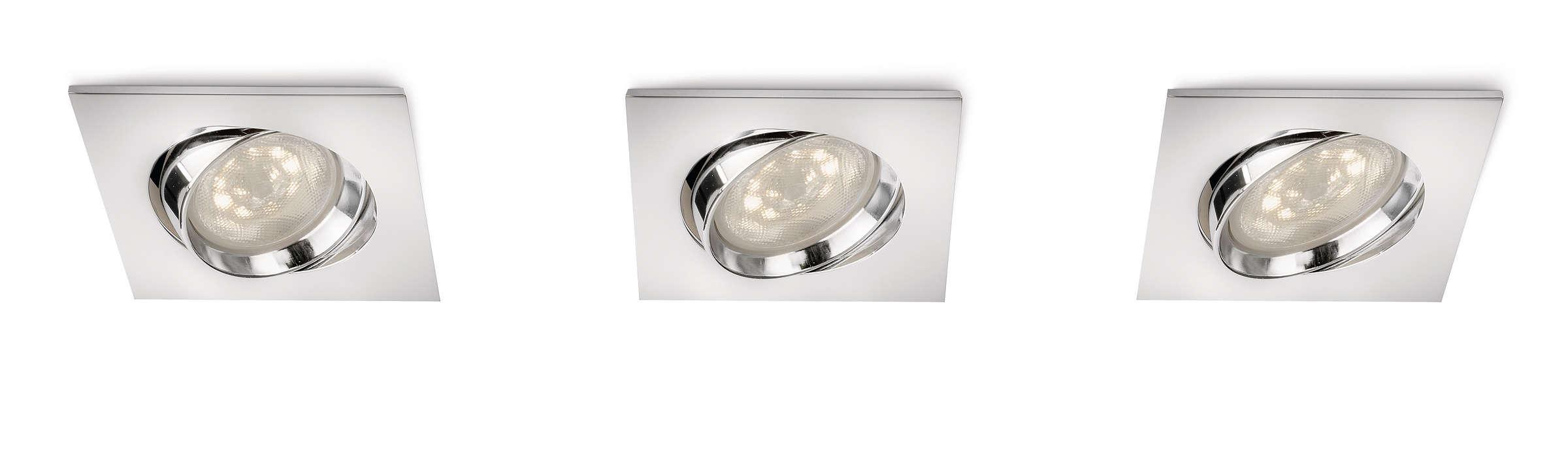 Fremhev hjemmet med lys