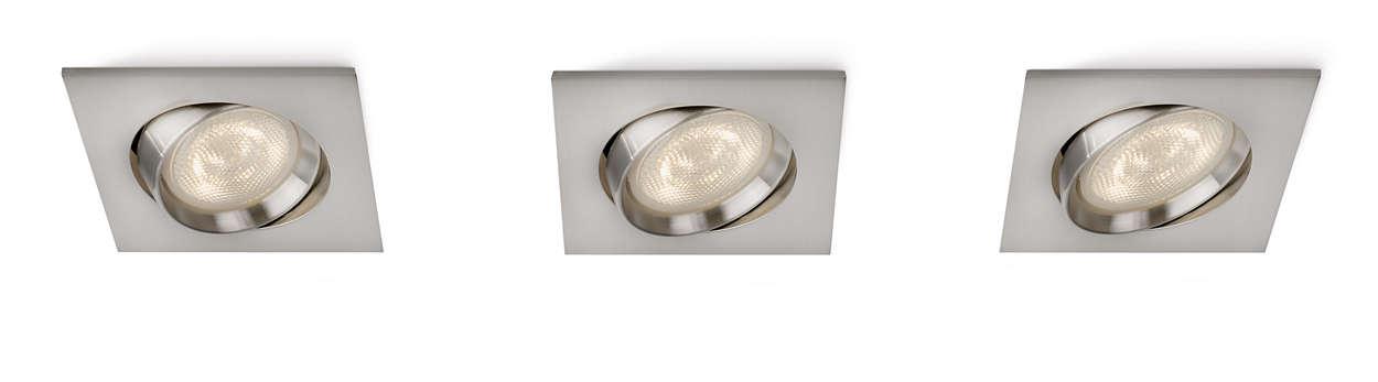 Gi hjemmet særpreg med lys