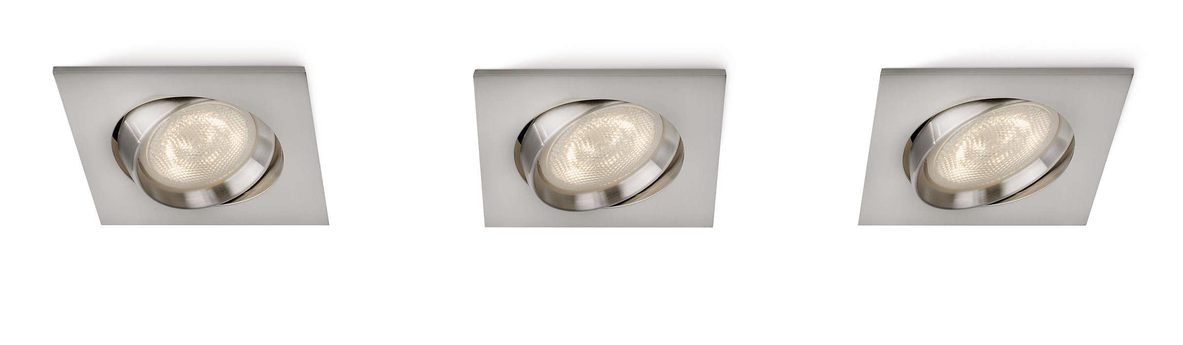 Realce a sua casa com luz