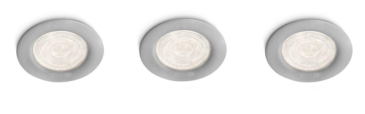 Расставьте акценты при помощи света