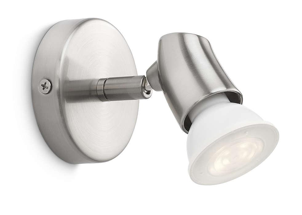 Decore a sua casa com luz