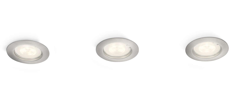 Tilføj kontraster til dit hjem med lys