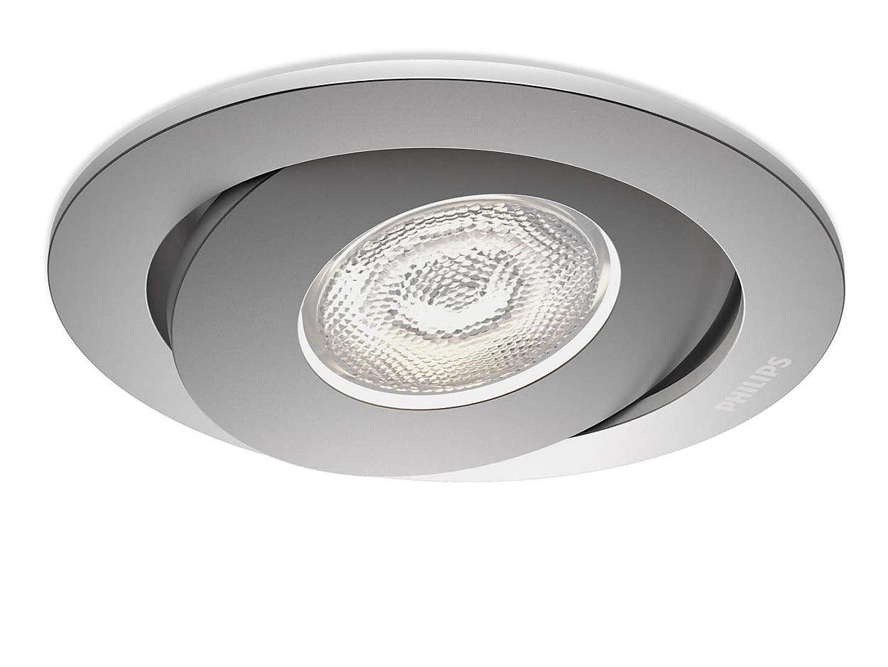 recessed spot light 591804816 philips. Black Bedroom Furniture Sets. Home Design Ideas