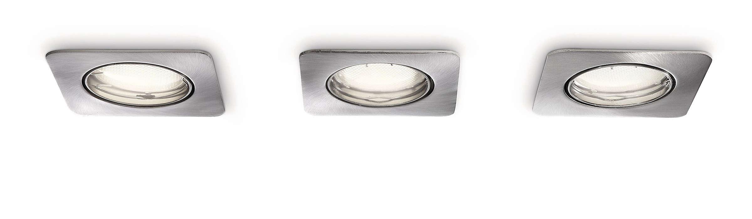 Inteligentne połączenie światła i kształtu