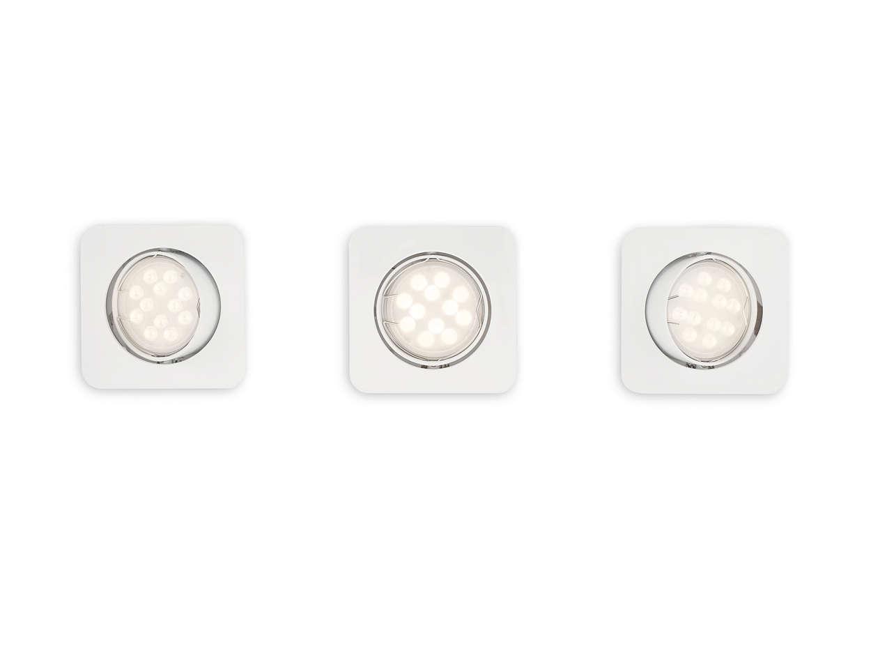 En smart kombination av ljus och design