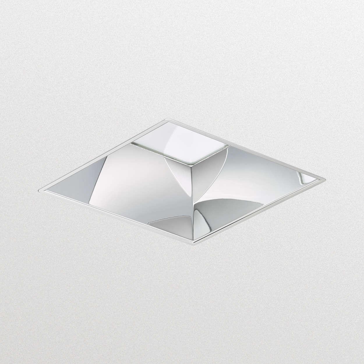 LuxSpace cuadrada, empotrada: alta eficiencia, comodidad visual y elegante diseño