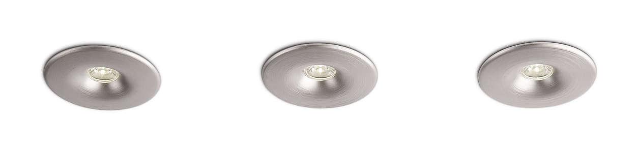 Valon ja muotoilun älykäs yhdistelmä
