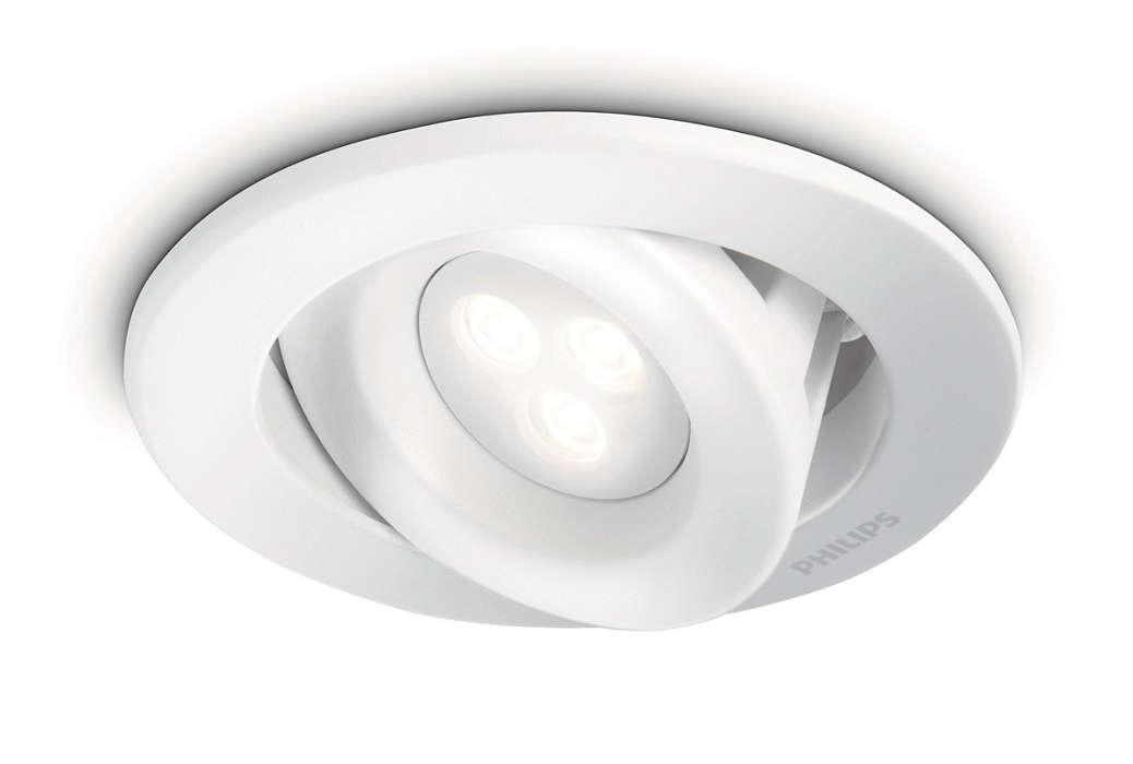 A combinação inteligente entre luz e design