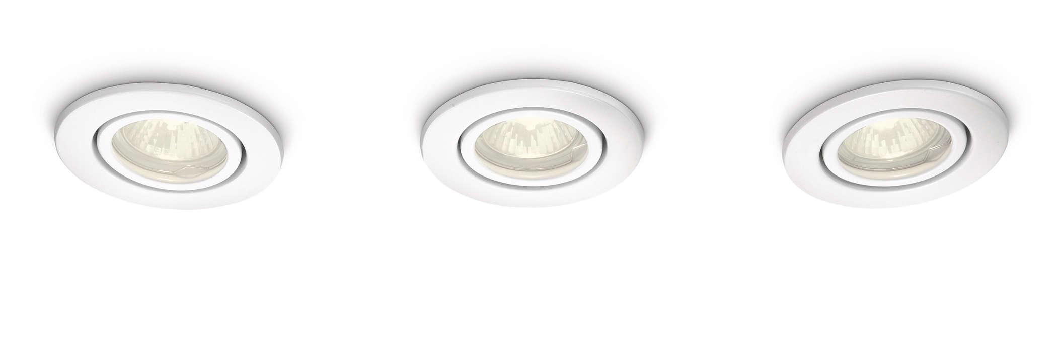 Естественный свет, создающий приятную атмосферу