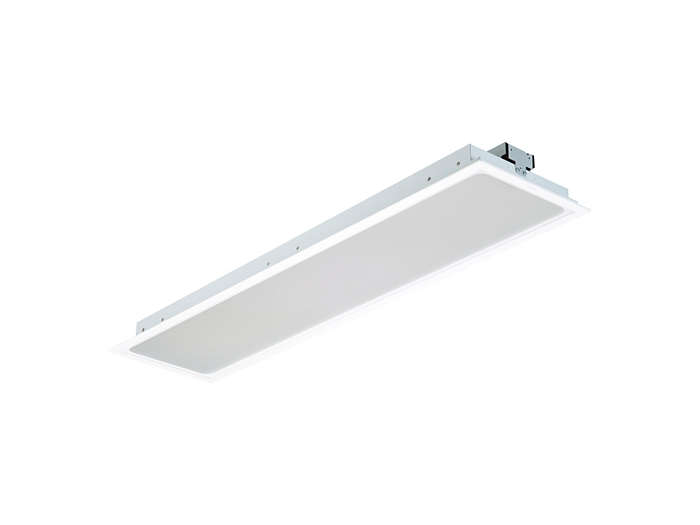 SmartBalance recessed RC482B LED luminaire, module size 312.5x1250 (concealed profile or plaster ceiling version)