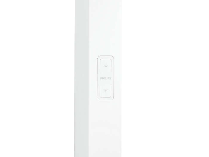 Touch buttons for separate switching and dimming