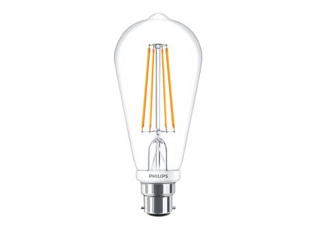 CLA LEDBulb D 7-60W ST64 B22 827 CL
