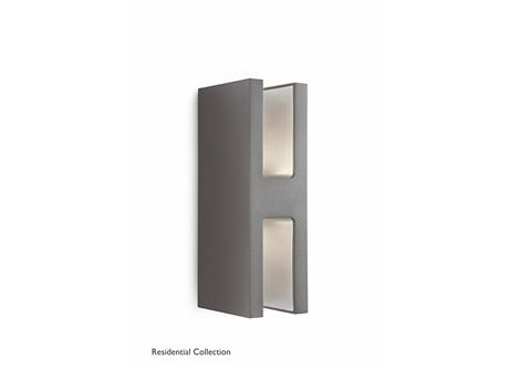 Sunlounge wall lantern anthracite 2x6.5
