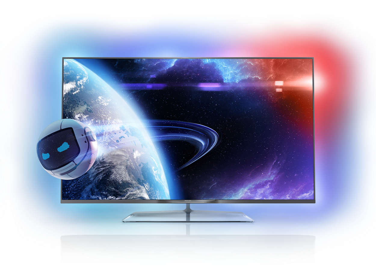 Ultraflacher Smart Led Fernseher 60pfl8708s12 Philips