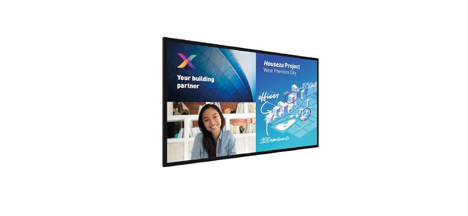 Interaktives Display für Meetings