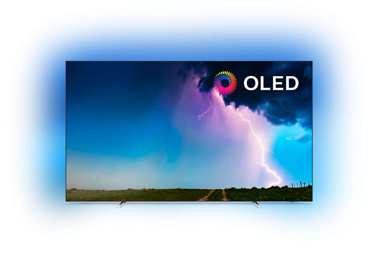 Téléviseur SmartTV 4KUHD OLED