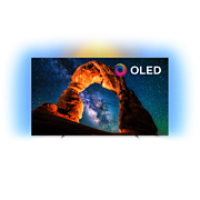 OLED 8 series Android TV 4K OLED Ultra HD plano