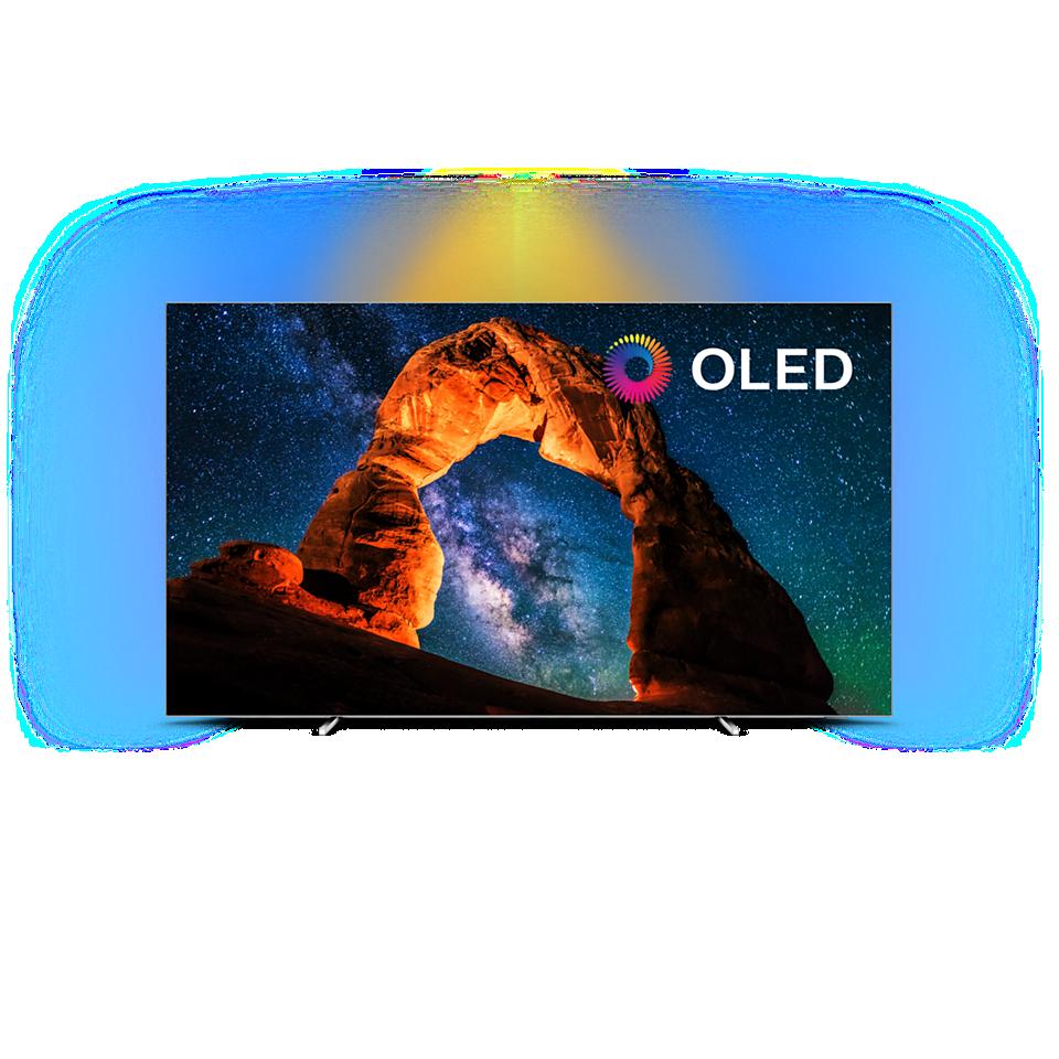 OLED 8 series Android TV OLED 4K UHD extrem de subţire