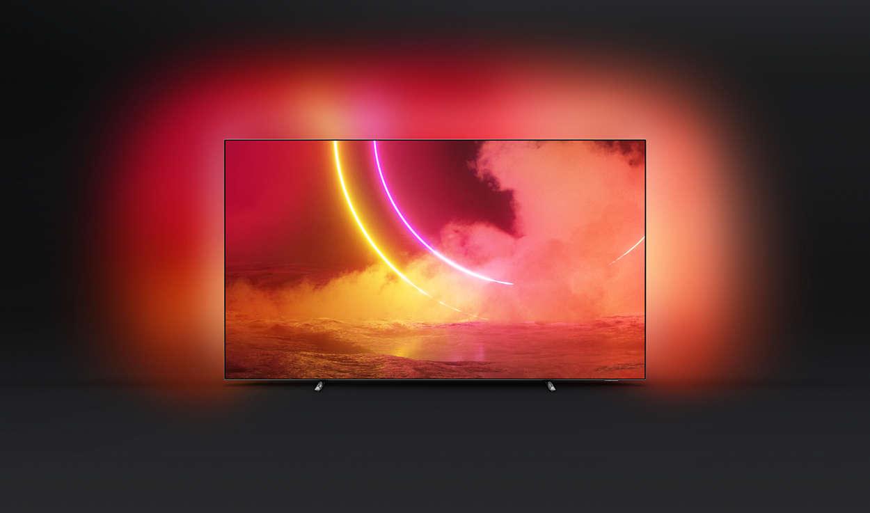 OLED 4K UHD OLED Android TV 65OLED805/12 | Philips