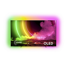 65OLED806/12 OLED טלוויזיה Android עם צג 4K UHD E-OLED