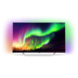 OLED 8 series Īpaši plāns 4K UHD OLED Android TV