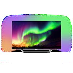 OLED 8 series Süper İnce 4K UHD OLED Android TV