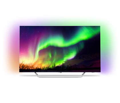 4K Razor Slim OLED TV