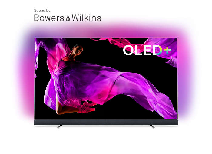 OLED+ 4K TV-lyd fra Bowers & Wilkins