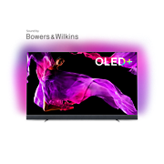 OLED 9 series OLED+ 4K TV sound by Bowers & Wilkins