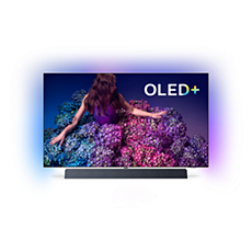 65OLED934/12 -    4KUHD OLED+ Android TV B&W-geluid