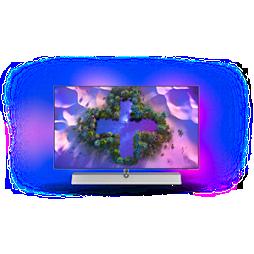 OLED+ Τηλεόραση Android 4K UHD - Ήχος Bowers&Wilkins